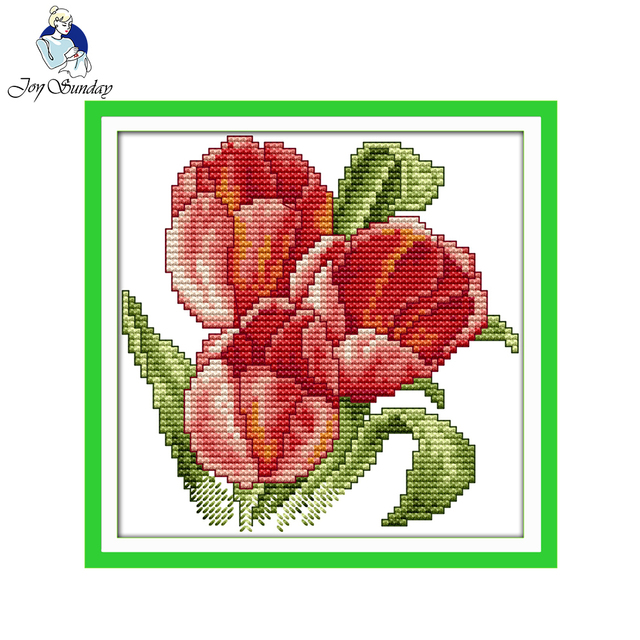 joy sunday floral style the flower of happiness small gift free christmas cross stitch patterns to - Free Christmas Cross Stitch Patterns