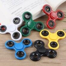 купить Fingertip Gyro Toy Anti Stress Toys Have Great Fun New 6 Colors Kids Adults Hand Spinner Sensory Desk Focus Toy по цене 129.61 рублей