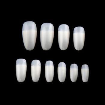 600 Pcs/Bag Fake Nails Short Stick Practice For Painting Polishing Gel Showing Tools Manicure False Nail Art Tips OA66 Маникюр