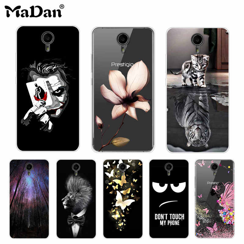 Cool Cover For Prestigio Muze X5 LTE PSP5518 DUO Case Thin Soft Silicone Phone Cases For Prestigio muze x5 Lte Cover Case 5.0""