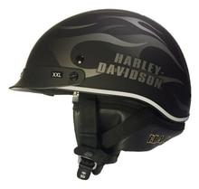 100% Original Harley Motorcycle Helmet Half Face with Removable Curtain Cruiser Retro Vintage Helmet HL201