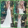 2016 mermaid Beaded Bridal Dresses Sexy Backless Princess Wedding Dress Cheap elegant Bohemian Weding Dress Beach Wedding Gowns