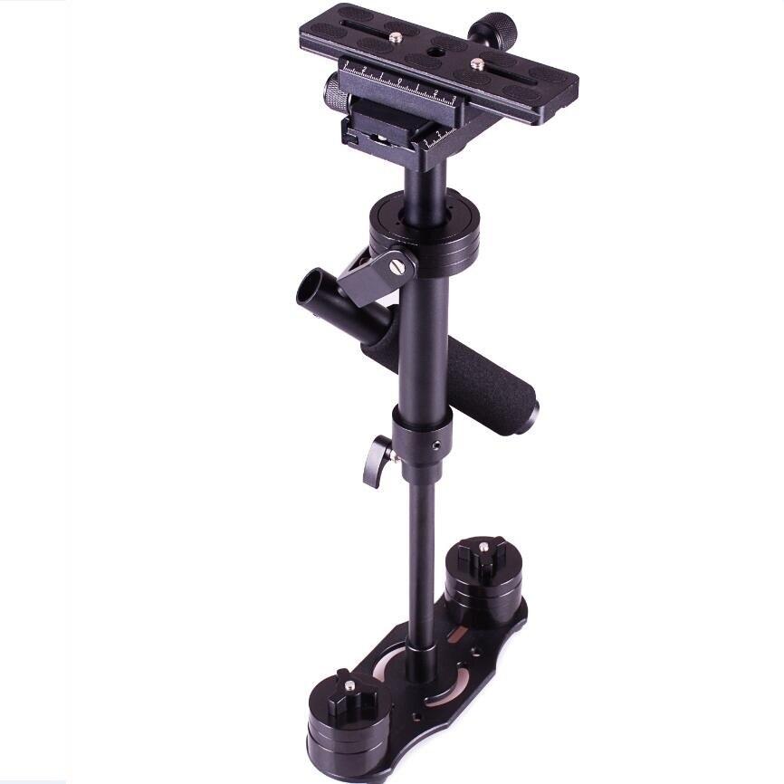 bilder für DSLR S40 0,4 mt 40 cm 0,5-1,5 KG kleine Kamera stabilisator Handheld stablizer DSLR steadicam video steadycam