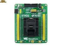 QFP100 LQFP100 QFP STM32F2 STM32F4 STM32 IC Test Socket Programming Adapter 0.5Pitch