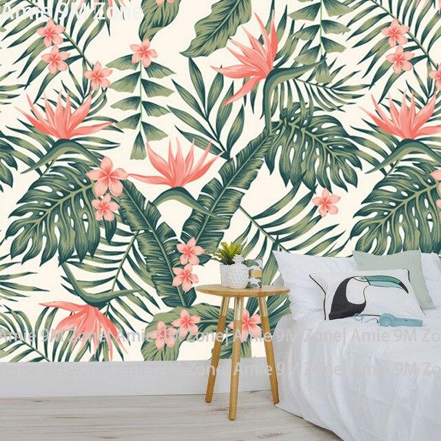 Tuya Arte Floral Y Flores Foto Pared Papel Mural Fondos Para Sala De