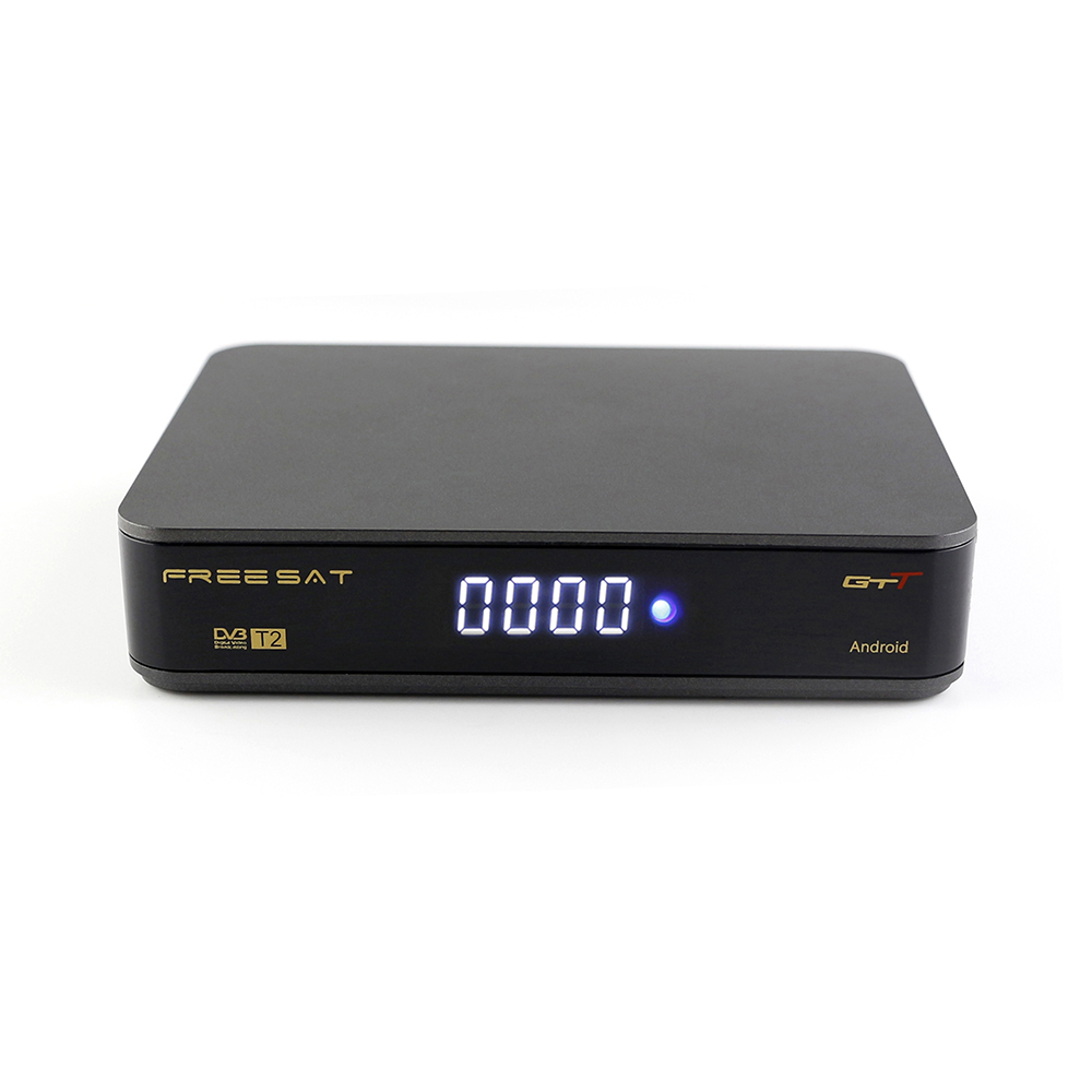 In stock Amlogic S905D 1G/8G Freesat GTT Android Tv Box up to 2.0 GHz support USB WIFI with satellite receiver set top box [genuine] freesat v7 dvb s2 hd with usb wifi satellite tv receiver support powervu biss key cccamd youtube youporn set top box