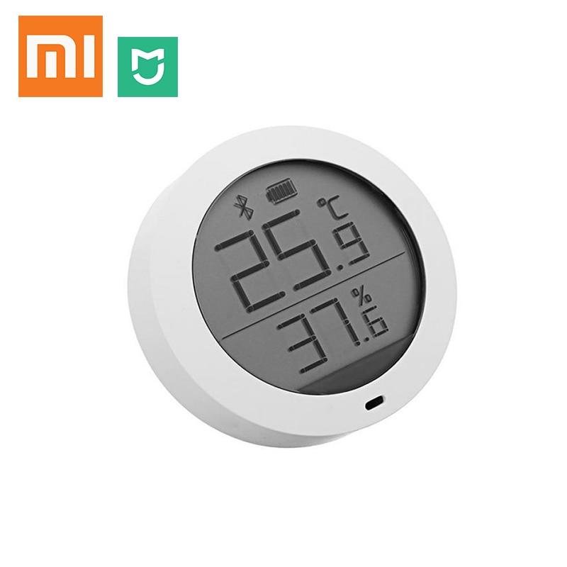 Dependable Original Xiaomi Mijia Bluetooth Temperature Humidity Sensor Lcd Screen Digital Thermometer Moisture Meter Smart Mi Home App Remote Controls