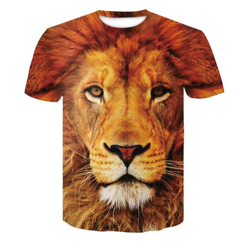 77852609 Pk Bazaar 3d fashion animal howl lofty new fashion men women t shirt ...