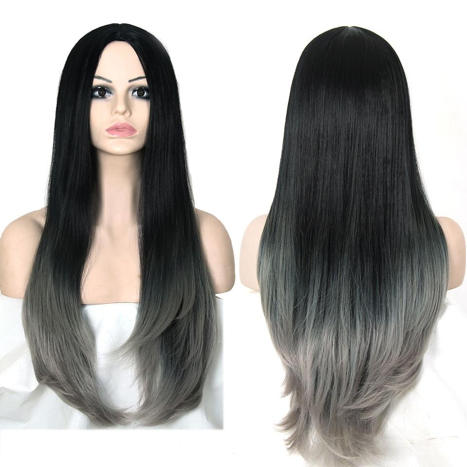 Most Natural Long Grey Hair Wig