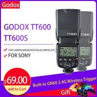 Godox TT600 Camera Flash Light Speedlite Flashlight for Fujifilm X t20 X t2 X100f Xt2 X t10 Fuji Godox TT600 Flash Synchronizer