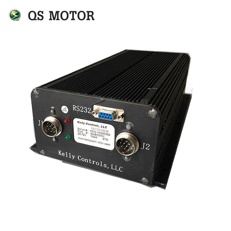 Kelly contrôleur KHB12801, 24-120 V, 800A, Opto BLDC Contrôleur pour électrique dans moyeu de roue moteur