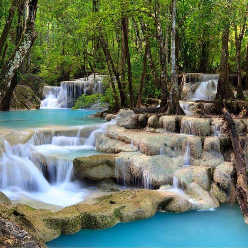 Beautiful Nature Image: Aliexpress.com : Buy Crafts Beautiful Nature Forest Falls