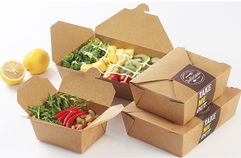 buy 15pcs lot kraft paper cake bread pizza box sandwich food takeout take out. Black Bedroom Furniture Sets. Home Design Ideas