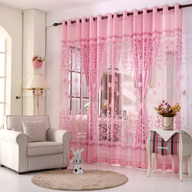 Aliexpress com   Buy Readymade window curtain   LR Lingboxianzi garden type  voile floral sheer curtains   green blackout drapes for bedroom  1 lot   from. Aliexpress com   Buy Readymade window curtain   LR Lingboxianzi