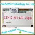 12.1''laptop lcd screen LTN121AT03 B121EW03 V.6 V.7 LTN121W1-L03 LP121WX1 LTN121AT02 N121I3-L01 20PIN XJ 1280*800 CCFL