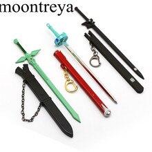 4 Colors Sword Art Online Sword Keychain