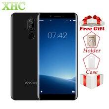 4 г DOOGEE X60L 5,5 дюйма Android 7,0 мобильных телефонов Оперативная память 2 ГБ Встроенная память 16 ГБ MTK6737V 4 ядра 13MP 8MP dual SIM Quick Charge смартфонов