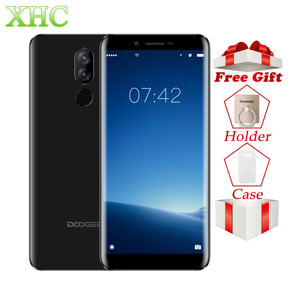 4g DOOGEE X60L 5,5 zoll Android 7.0 Handys RAM 2 gb ROM 16 gb MTK6737V Quad Core 13MP 8MP dual SIM Quick Charge Smartphones