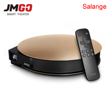 JmGO G3 Pro Android4.4 1200 ANSI Lumen Proyector 3D Apoyo 4 K 300 pulgadas de Alta Fidelidad Bluetooth WIFI HDMI Proyector DLP Miracast Airplay