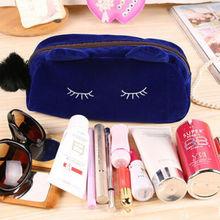 Women Beauty Cosmetic Makeup Bag Ladies Organizer Zipper Handbag Fashio