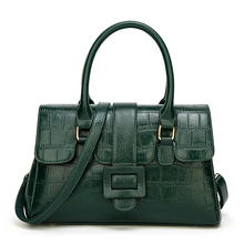 цена 2019 Hot Luxury Leather Women's Handbags Brand Women Messenger Bags Fashion Ladies Sac A Main Alligator pattern big Tote Bag в интернет-магазинах