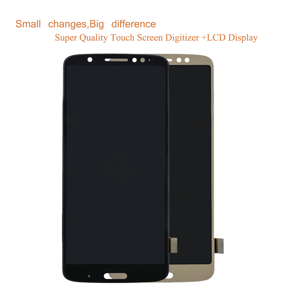 """10Pcs/lot 5.9"""" For Motorola Moto G6 Plus XT1926 LCD Display Touch Screen Digitizer Sensor Complete LCD Assembly Monitor Module-in Mobile Phone LCD Screens from Cellphones & Telecommunications    2"""