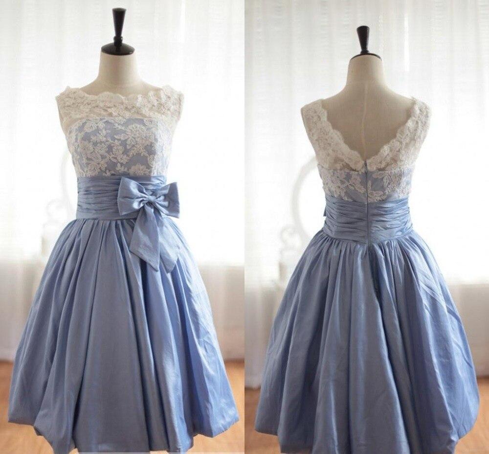 free shipping real photos robe de soiree 2014 new design lace vestido de festa longo sexy knee length party gown prom dresses