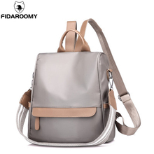 Fashion Preppy Style Nylon Backpack Women Small Traveling Bag Girls Schoolbag Waterproof Crossbody Bags Student School Backpacks стоимость
