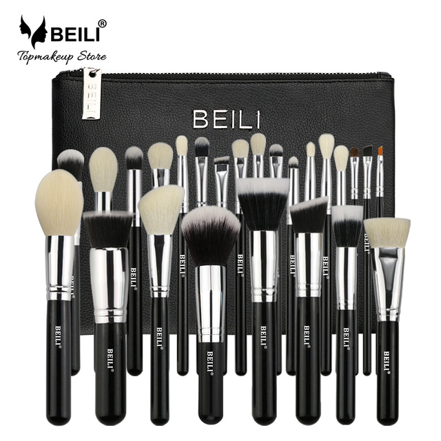 Beili Black Complete Professional 25 Pieces Foundation Powder