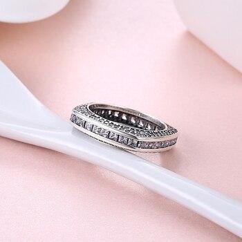 Luxury Square Zircon Ring5