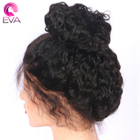 Eva Hair Full Lace Human Hair Wigs With Baby Hair Brazilian Remy Hair Pre Plucked Natural