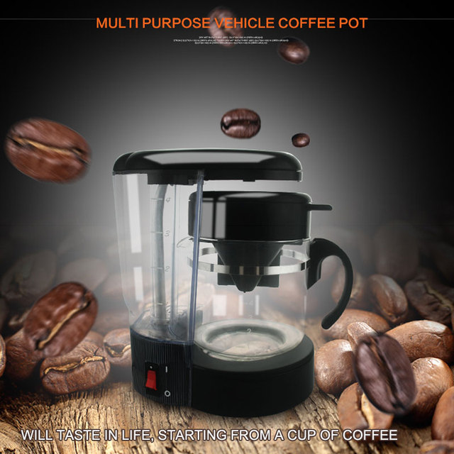 Car electric intelligent burning kettle car heating cup multi purpose vehicle coffee pot,can be used to outdoor distillation