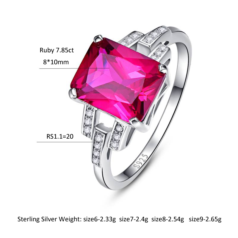 Fine Jewelry Painstaking Bonlavie Fine Jewelry Sterling Silver Mystical Rainbow Oval Rings For Woman Colorful Gemstone Flower Shaped S925 Rings