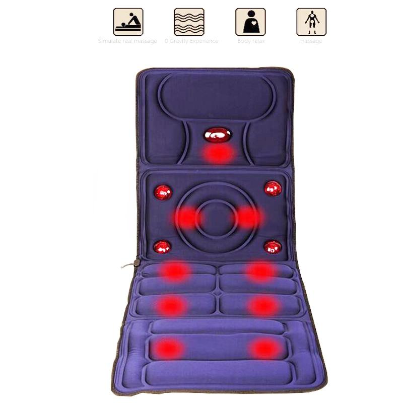 Body Massager Far Infrarød Massage Pads Træthed Vibration Madras - Sundhedspleje - Foto 3