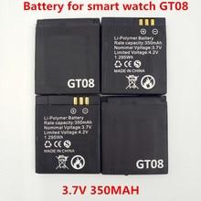 Bateria de Substituição DA para Gt08 Original Recarregável Li-ion Battery 3.7 V 350 Mah Smart Relógio DA Bateria para Gt08