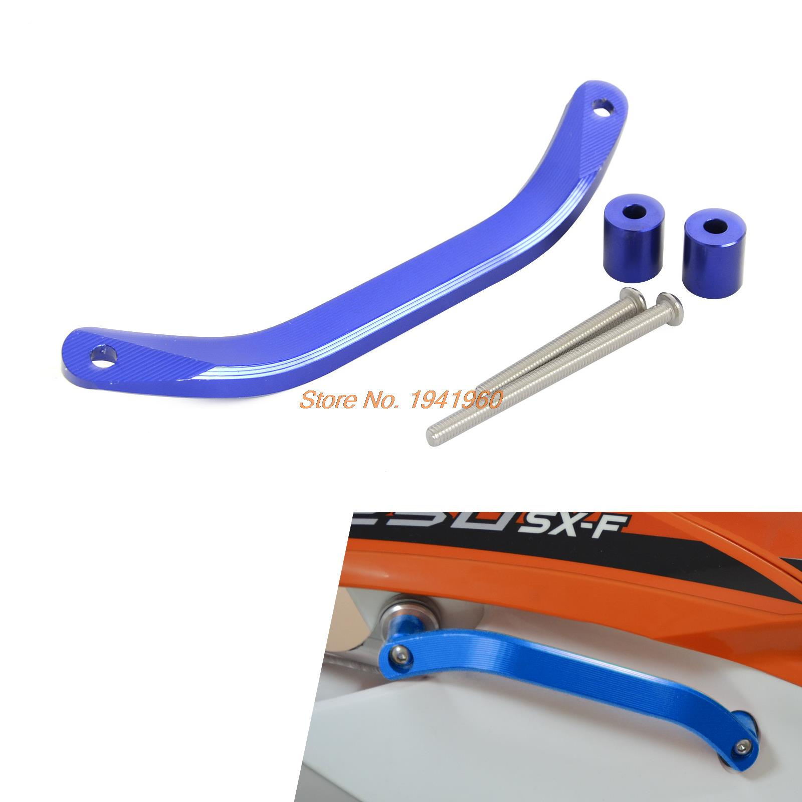 Motorcycle Rear Passenger CNC Billet Grab Handle for KTM 125/150 SX 11-15 250/300 SX/XC/XC-W SX-F/XC-F 11-15 XCF-W/EXC 12-16