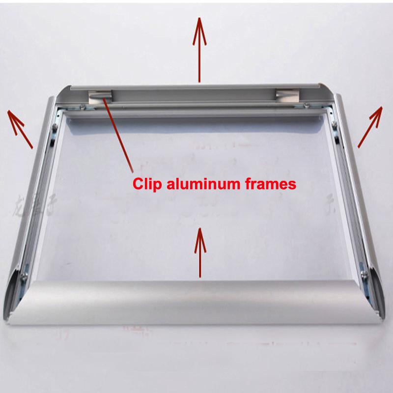 floor aluminum led light pockets