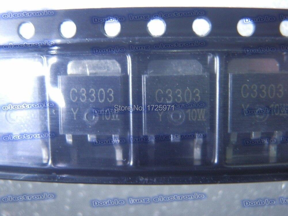 Ξ30 unids/lote 2SC3303-Y 2SC3303 C3303Y C3303 TO252 100 V 5A ...