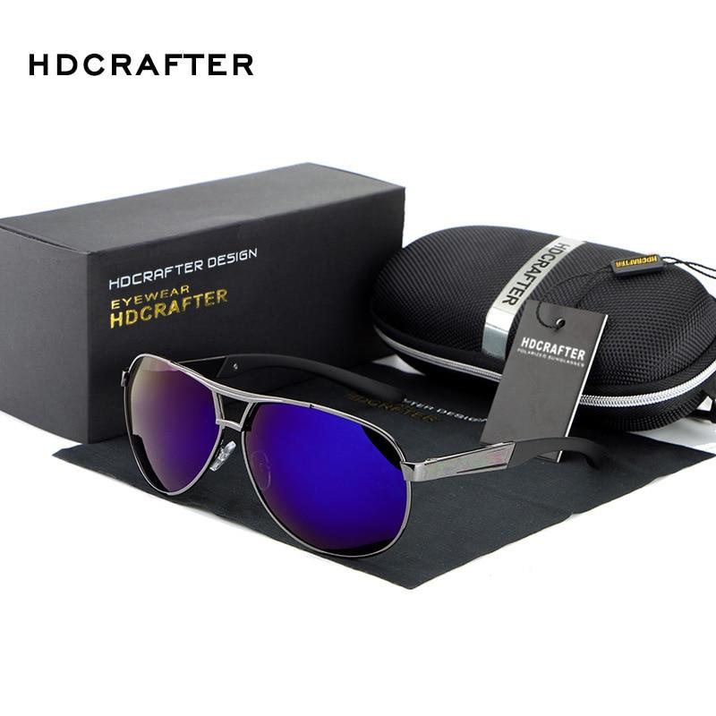 HDCRAFTER Brand Designer Neue 2019 Polarisierte Sonnenbrille Männer - Bekleidungszubehör - Foto 6