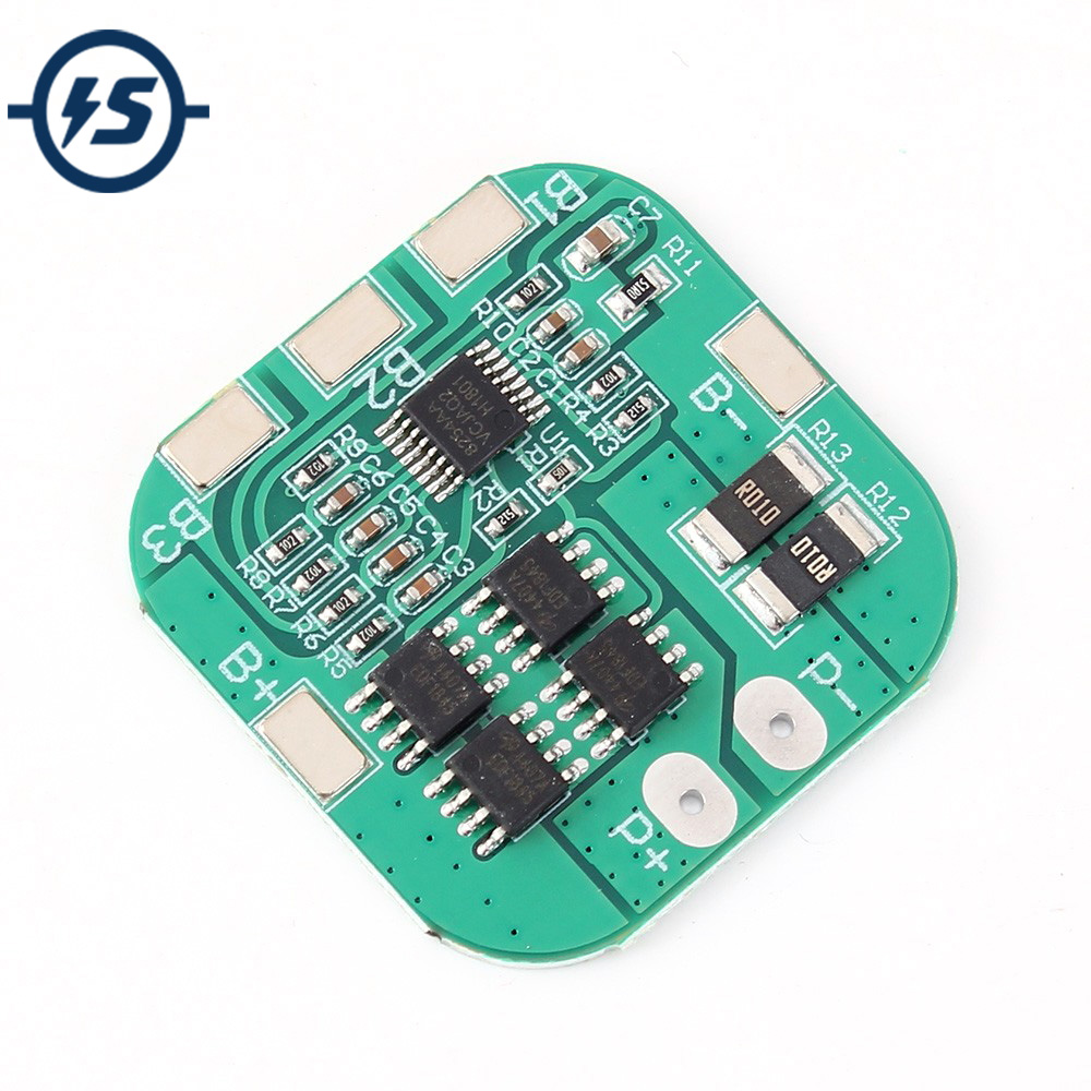Li-ion Lithium Battery Charger Board Charger Module+Protection BMS Protection Board Module Electronic 10A 14.8V 16.8V <font><b>4S</b></font> <font><b>18650</b></font> image