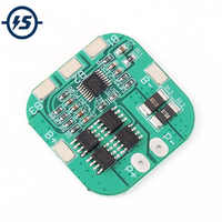 Li-ion Lithium Battery Charger Board Charger Module+Protection BMS Protection Board Module Electronic 10A 14.8V 16.8V 4S 18650
