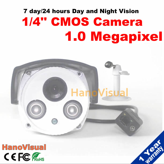 ФОТО HD 1.0MP IP Camera 720P Outdoor Waterproof With IRCUT Filter Night Vision ONVIF P2P Remote View Network IR Surveillance Camera