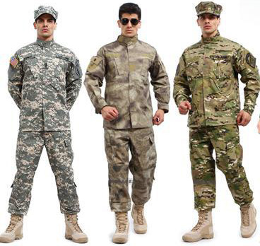 High Quality Men Military Tactical Uniforms ACU Camouflage