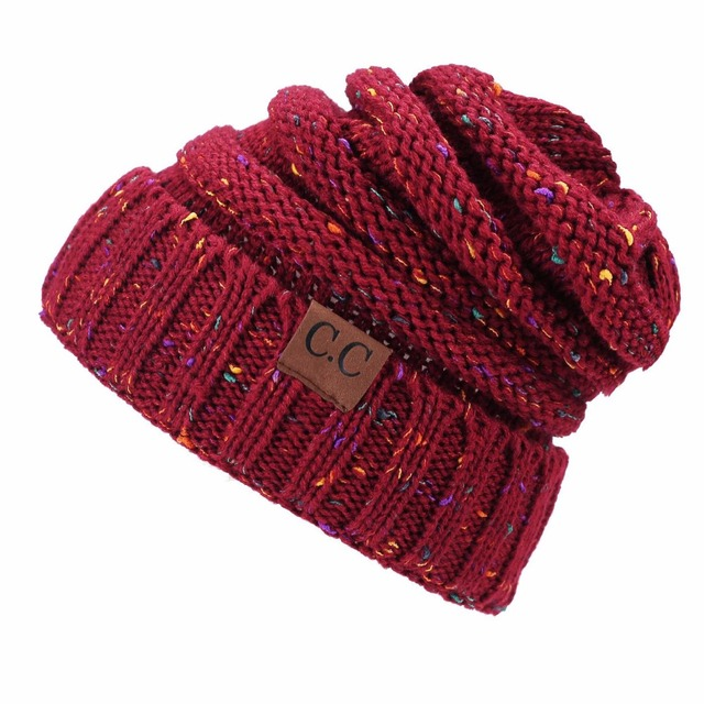 Winter Brand Female Ball Cap Pom Poms Winter Hat For Women Girl 'S Hat Knitted Beanies Cap Hat Thick Women'S Skullies Beanies