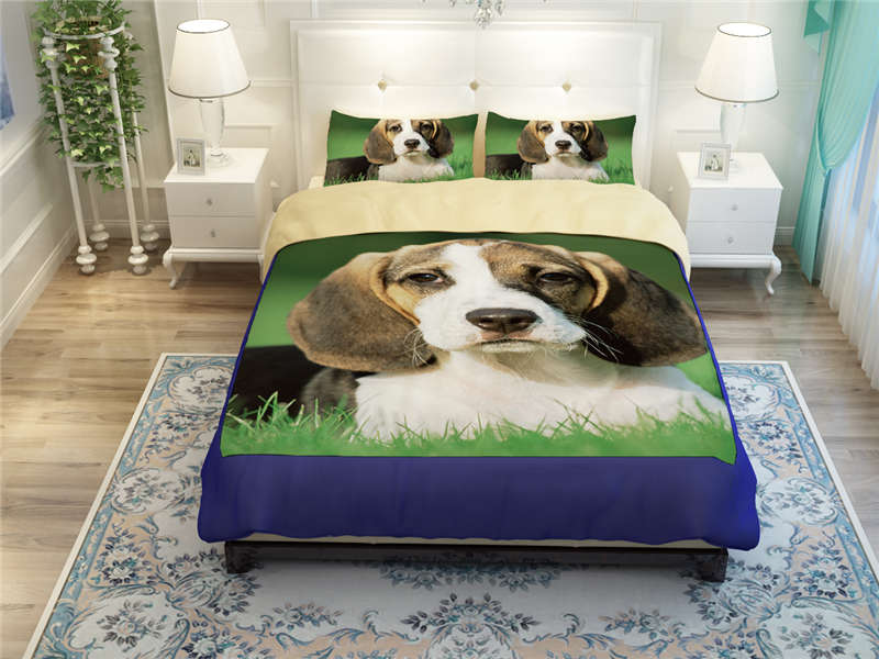 Bedding pet dog kids boys adult printed green bed comforter duvet cover set  twin full queen king size polyester cotton 3 4pcs. Bed Comforter Cover Promotion Shop for Promotional Bed Comforter