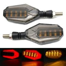 مصباح إشارة الانعطاف LED للدراجات الهوائية مصابيح مؤشر جانبي لكاواساكي VERSYS 650cc ZZR1200 ZXR400 ZZR600 KTM 790 DUKE 690 Duke