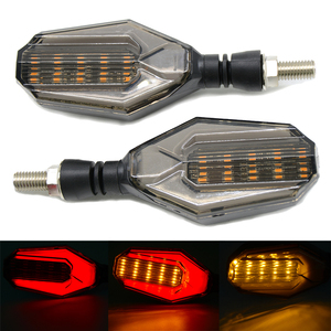 Image 1 - مصباح إشارة الانعطاف LED للدراجات الهوائية مصابيح مؤشر جانبي لكاواساكي VERSYS 650cc ZZR1200 ZXR400 ZZR600 KTM 790 DUKE 690 Duke