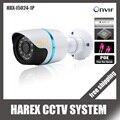1280*720 P 1.0MP ONVIF Impermeável Ao Ar Livre IR CUT Night Vision Plug and Play Mini Bala Câmera IP POE, frete grátis