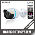 1280*720P 1.0MP ONVIF  Waterproof Outdoor IR CUT Night Vision Plug and Play Mini Bullet POE IP Camera, free shipping