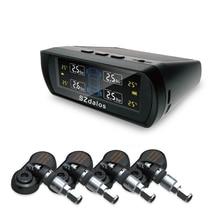 SZDALOS TP400 Solaire TPMS Sans Fil Universal tire pressure monitoring système avec capteurs internes